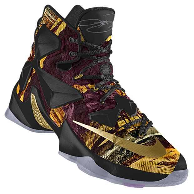 1eee8b99f9bf We explore the possibilities of the newest graphic option to hit NikeiD for  the Nike LeBron 13