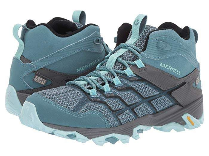 merrell moab fst 2 hiking shoes - womens mk