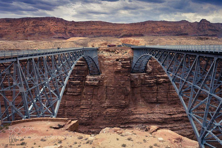 Navajo Bridge by juanvalino. @go4fotos