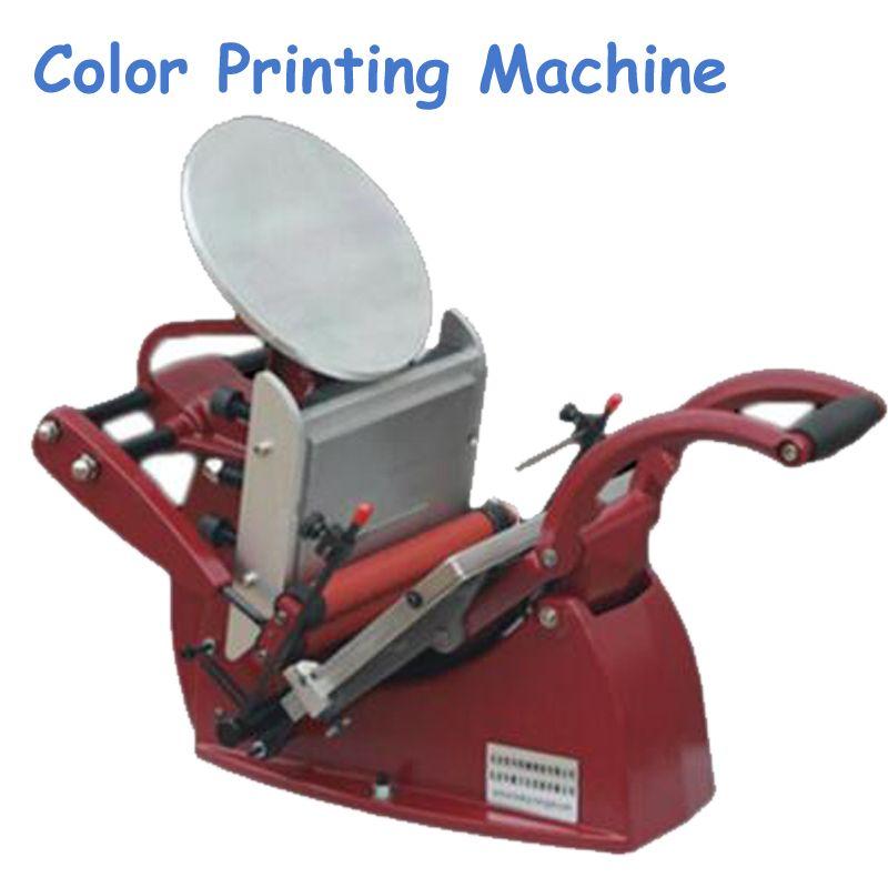 1pc Manual Letter Press Disc Printing Press Letterpress Business Card Printing Press Manual Color Business Card Printer Card Printer Printing Business Cards