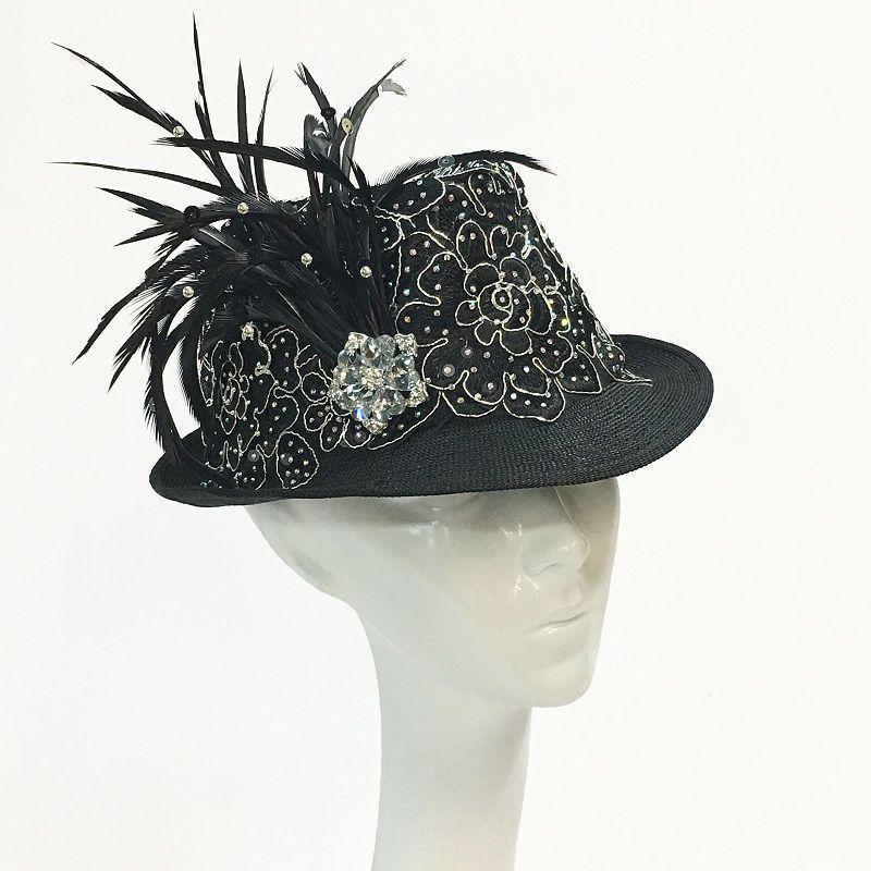 c531ffe40a4 Whittall   Shon Fedora Derby Hat