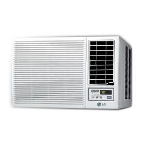 LG Electronics BTU Window Air Conditioner With Heat And At The Home Depot