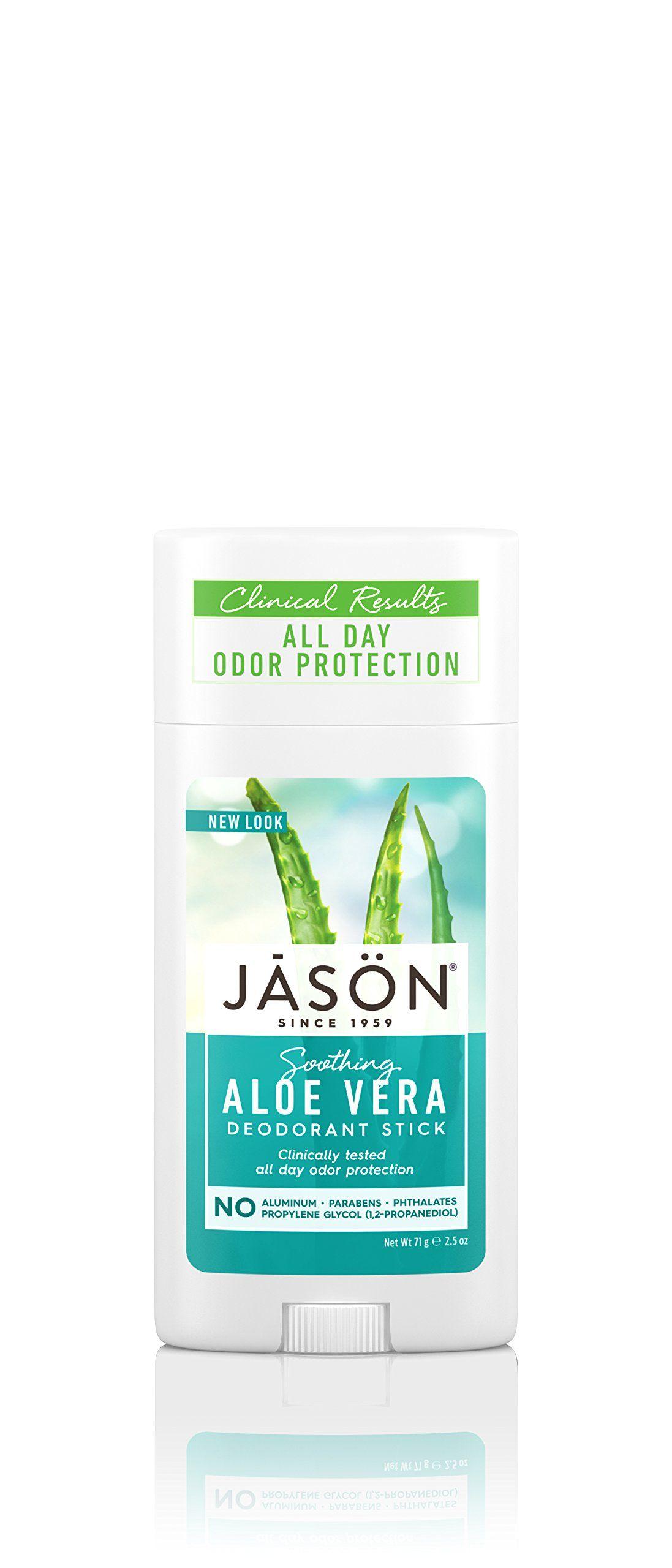 Jason soothing aloe vera aluminum and paraben free