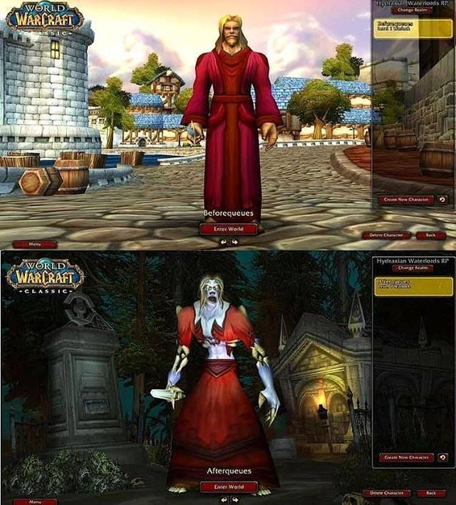 World Of Warcraft Classic Memes