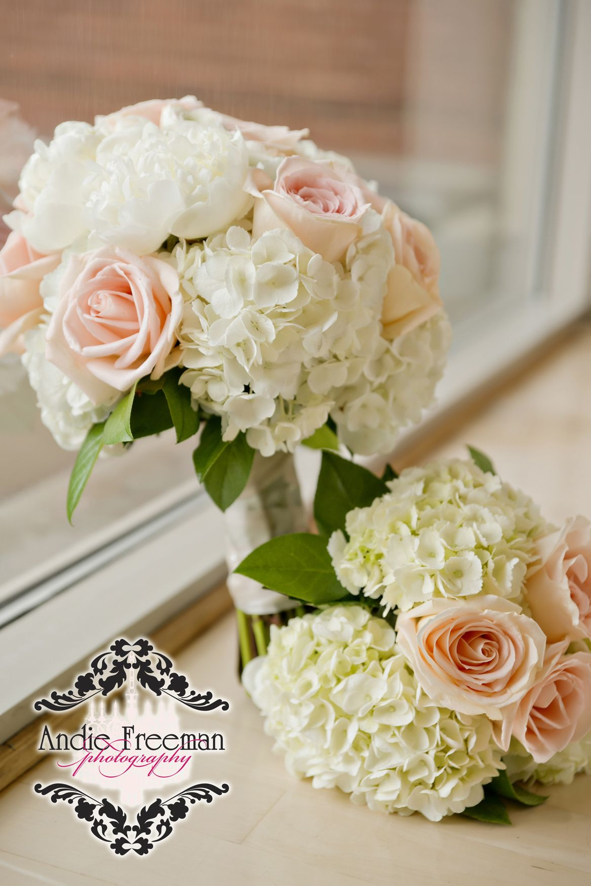 Pink Garden Rose And Hydrangea Bouquet hydrangea wedding bouquets | hydrangea, flower and wedding