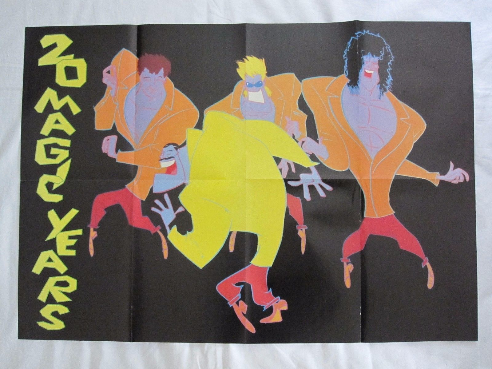 Queen A Kind Of Magic Freddie Mercury Fold Out Poster 20 Years For Sale 14 99 See Photos Money Back Guarantee Double Sided Fold Out Poster Never
