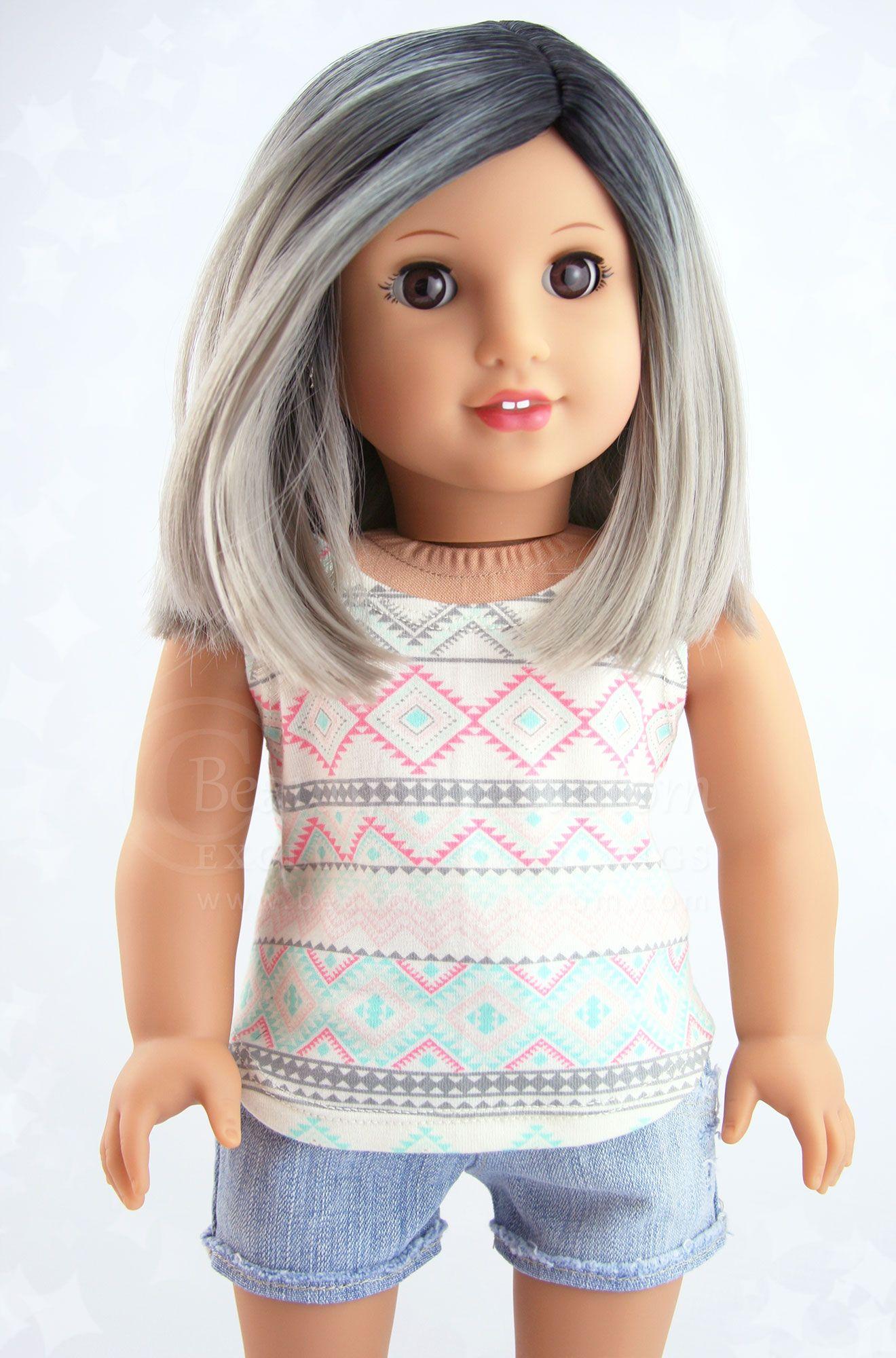 American Girl Clark Doll With Book Custom American Girl