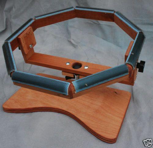Octagonal Swivel Rug Hooking Lap Frame