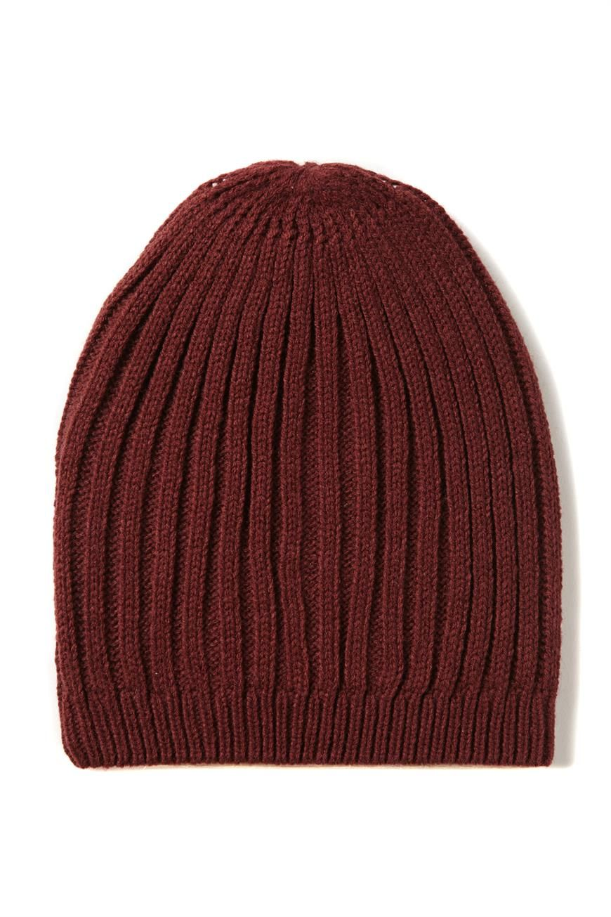 The Slouchy Rib Beanie features a relaxed, slouchy fit in a variety of knits. Composition: 100% Acrylic