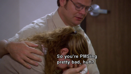 Image result for dwight and pam crying