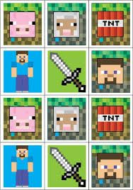 Hilaire image intended for free printable chevron banner minecraft