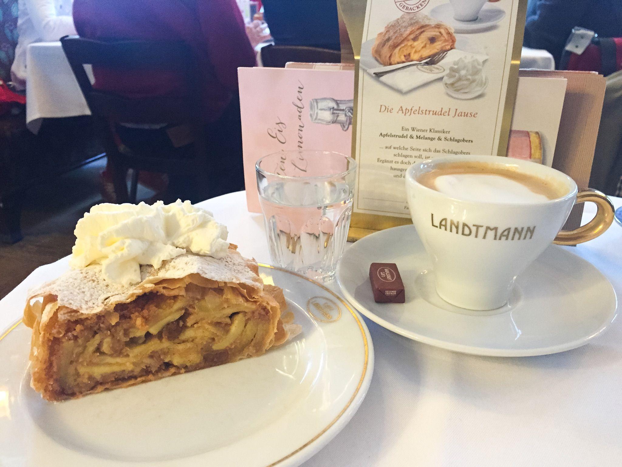 Cafe Landtmann American In Vienna Cafe Food Desserts
