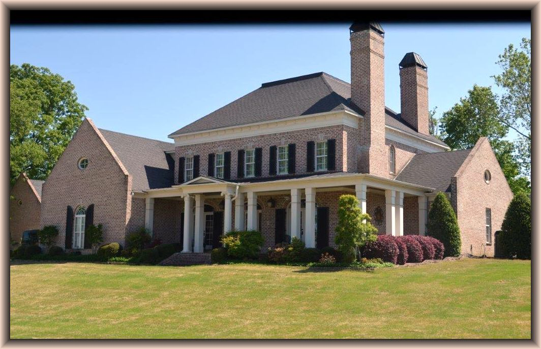 Abberley lane southern living home plan tastefully built for Home builders in south mississippi