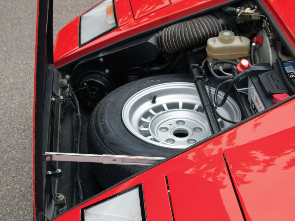 1977 Lamborghini Countach Lp400 Periscopio Rhd Front Trunk