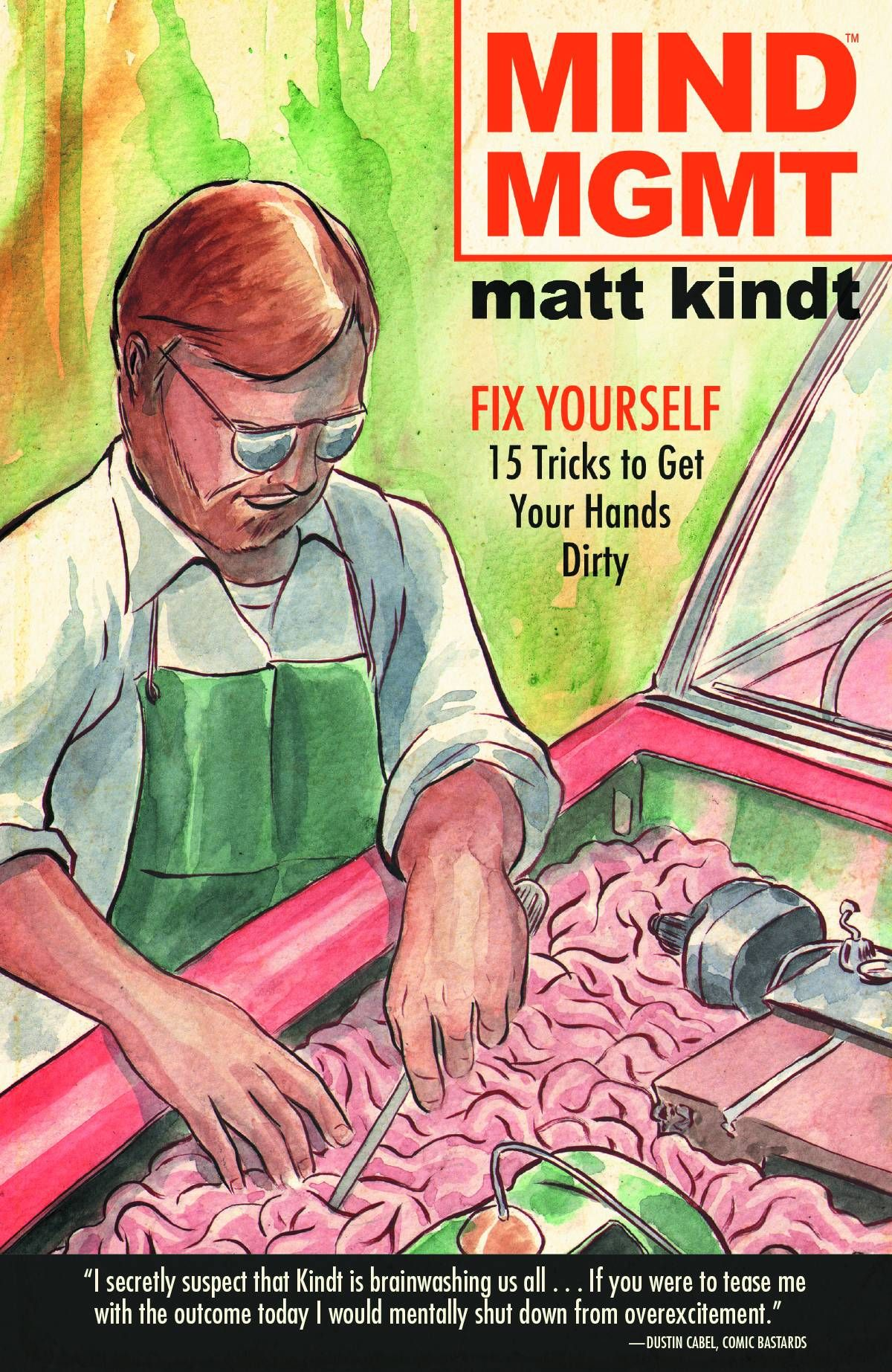 Mind MGMT #15 (Virgin Cover) #DarkHorse #MindMGMT (Cover Artist: Matt Kindt) On Sale: 9/25/2013