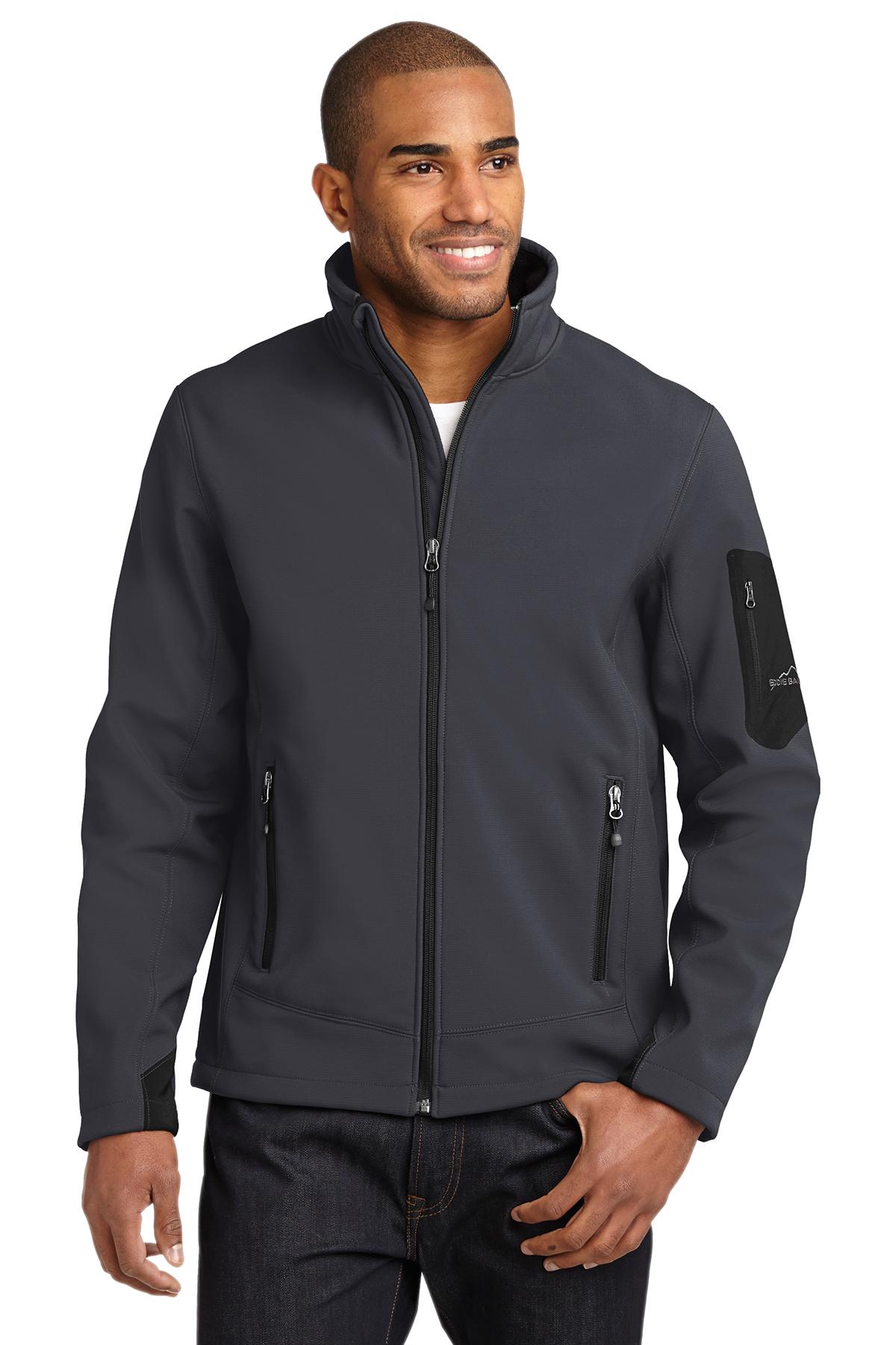 Eddie Bauer Men's Black Softshell Jacket