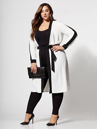 c430b3cb99502 Plus Size Aimee Striped Sweater Bodycon Dress