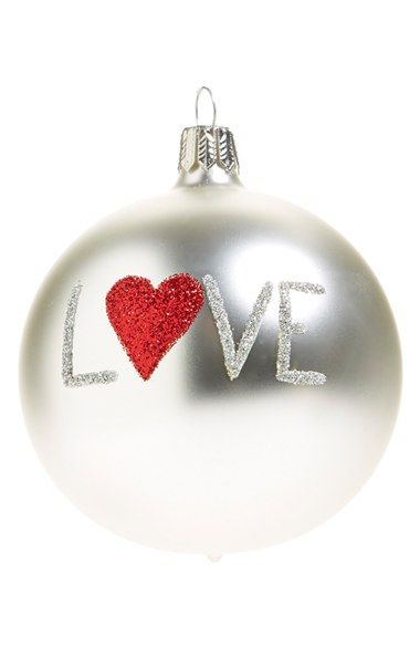 nordstrom at home love ornament available at nordstrom - Nordstrom Christmas