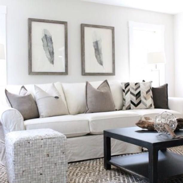 Living Room Design Help: Keeping Grays Interesting With The Help Of #mypotterybarn