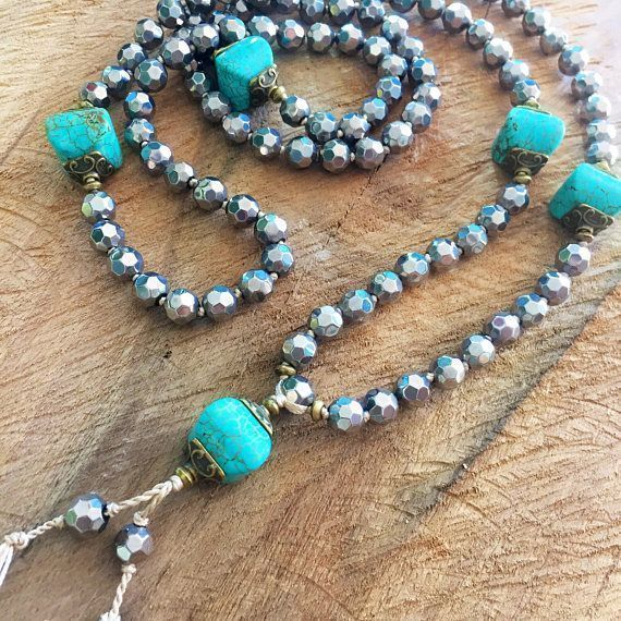 Chunky Turquoise Czech Beads Silver Necklace Turquoise Necklace Women Statement ...  Chunky Turquoise Czech Beads Silver Necklace Turquoise Necklace Women Statement …  Chunky Turquoi #beads #chunky #czech #necklace #Silver #statement #turquoise #women