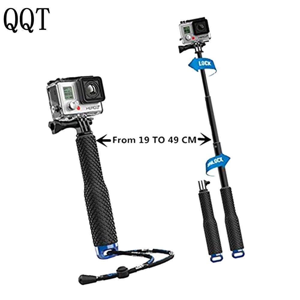 Selfie Stick Monopod Extendable Arm Pole Camcorder Holder Mount Camera Gopro 19/'