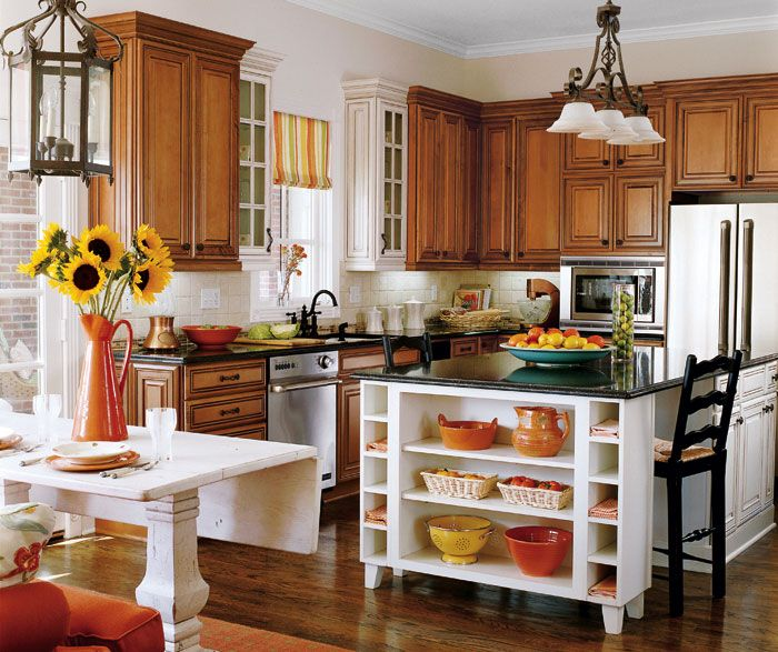 35 Fresh White Kitchen Cabinets Ideas To Brighten Your: Selena Maple Cabinets Coffee And Coconut With Amaretto