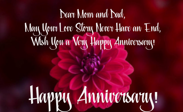 Anniversary Quotes for Parents, Anniversary Wishes For