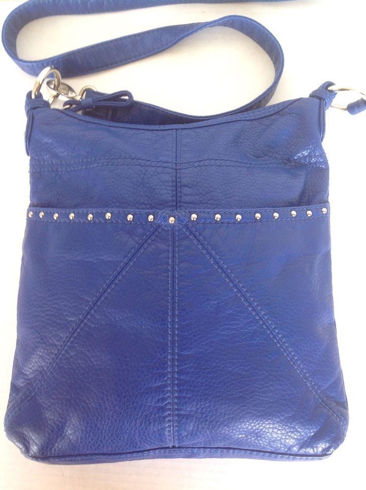Red Marc Ecko Crossbody Messenger Bag Purse Designer Fashion Hip Cobalt Blue #RedbyMARCECKO #MessengerCrossBody