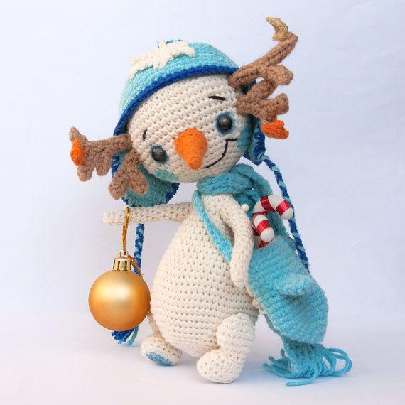 PATTERN – Snowman Lu - crochet pattern, amigurumi pattern, pdf ...