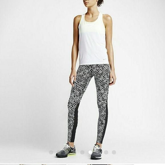 Nike White S Nwot Running Mesh Black Leggings Hype And Air AwnpqCO