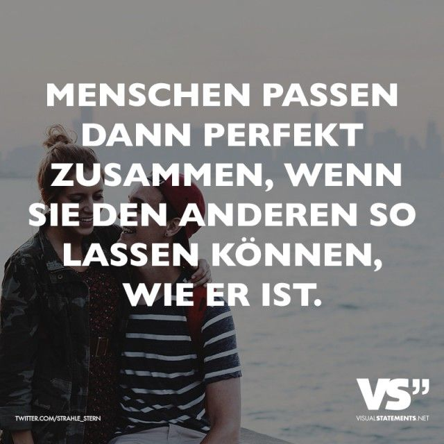 VISUAL STATEMENTS® - Beautifully designed quotes   Sprüche