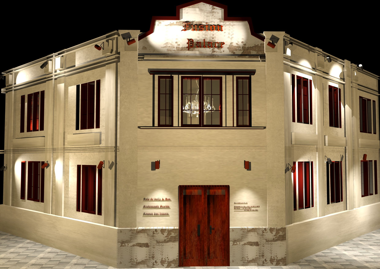 Fachada fuison palace spa baile restaurante lounge bar - Terraza chill out ...