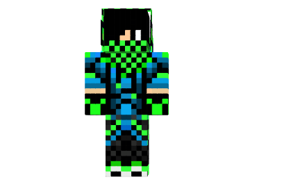 Minecraft Cool Skins for Boys | http://img.mod-minecraft.net/Skin/Neon-cool-boy-skin.png