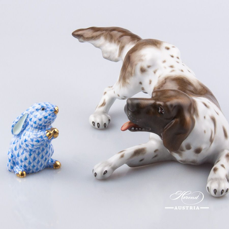 Dog - German Vizsla | Dogs for Herend lovers | Dogs, Figurines, Animals