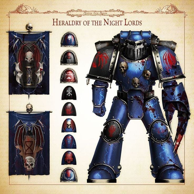 Art Of Warhammer On Instagram The Viiith Legion Was Soaked In Blood From Its Birth The Legion S First Recruits Came From The Linked Prison Sinks Of Ancient Terra In Vozeli Com