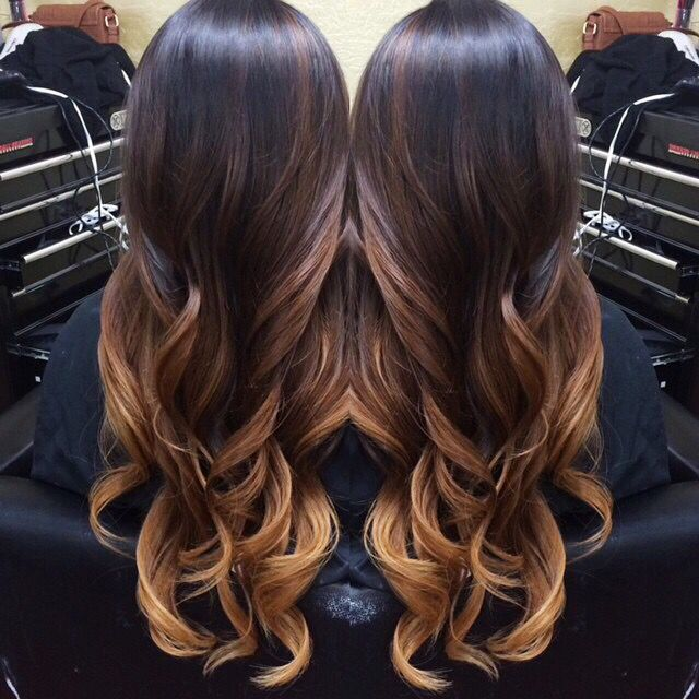 Balayage and ombré! I love my new hair