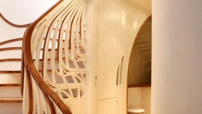 kreative treppenhaus ideen einrichtungstipps | Hauseingang | Pinterest