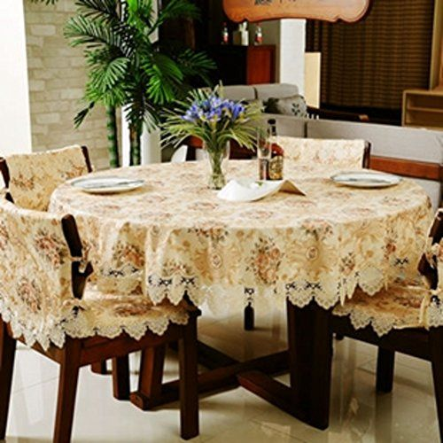 Fashion Garden Jacquard Art Table Linen Table Cloth Table Runner