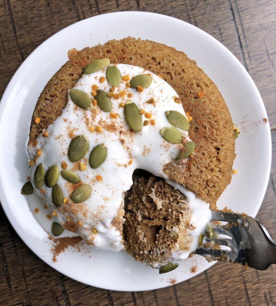 The Easiest Pumpkin Protein Mug Cake Recipe | This Paleo pumpkin mug cake is dairy free, nut free and doesn't contain any added sugar. #paleobreakfast #healthydessert #microwavecake #proteinmugcakes The Easiest Pumpkin Protein Mug Cake Recipe | This Paleo pumpkin mug cake is dairy free, nut free and doesn't contain any added sugar. #paleobreakfast #healthydessert #microwavecake #proteinmugcakes The Easiest Pumpkin Protein Mug Cake Recipe | This Paleo pumpkin mug cake is dairy free, nut free and #proteinmugcakes