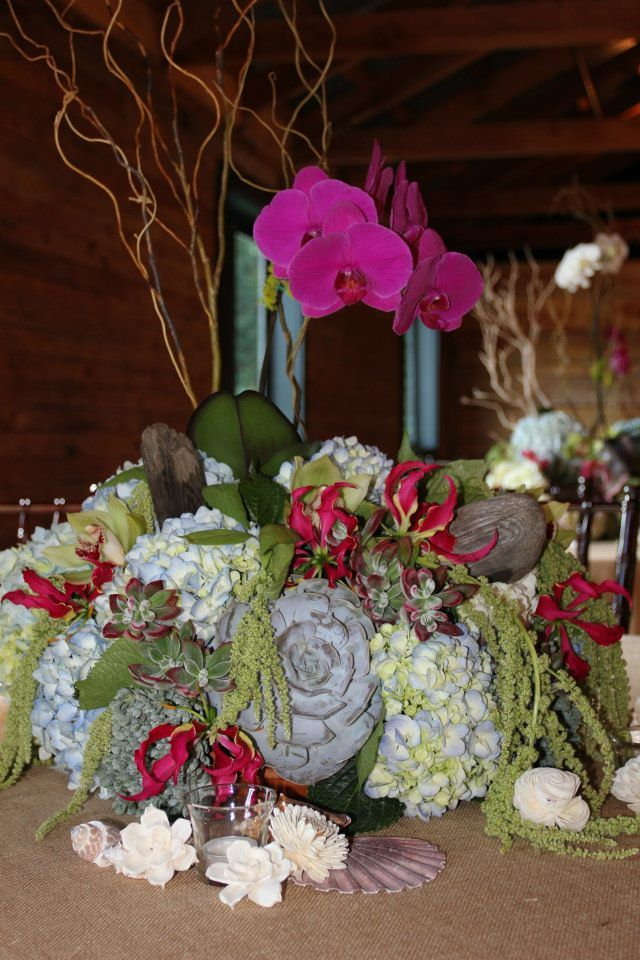 Le Petit Jardin/ Madison Georgia/ Tropical Wedding Flowers | RD ...