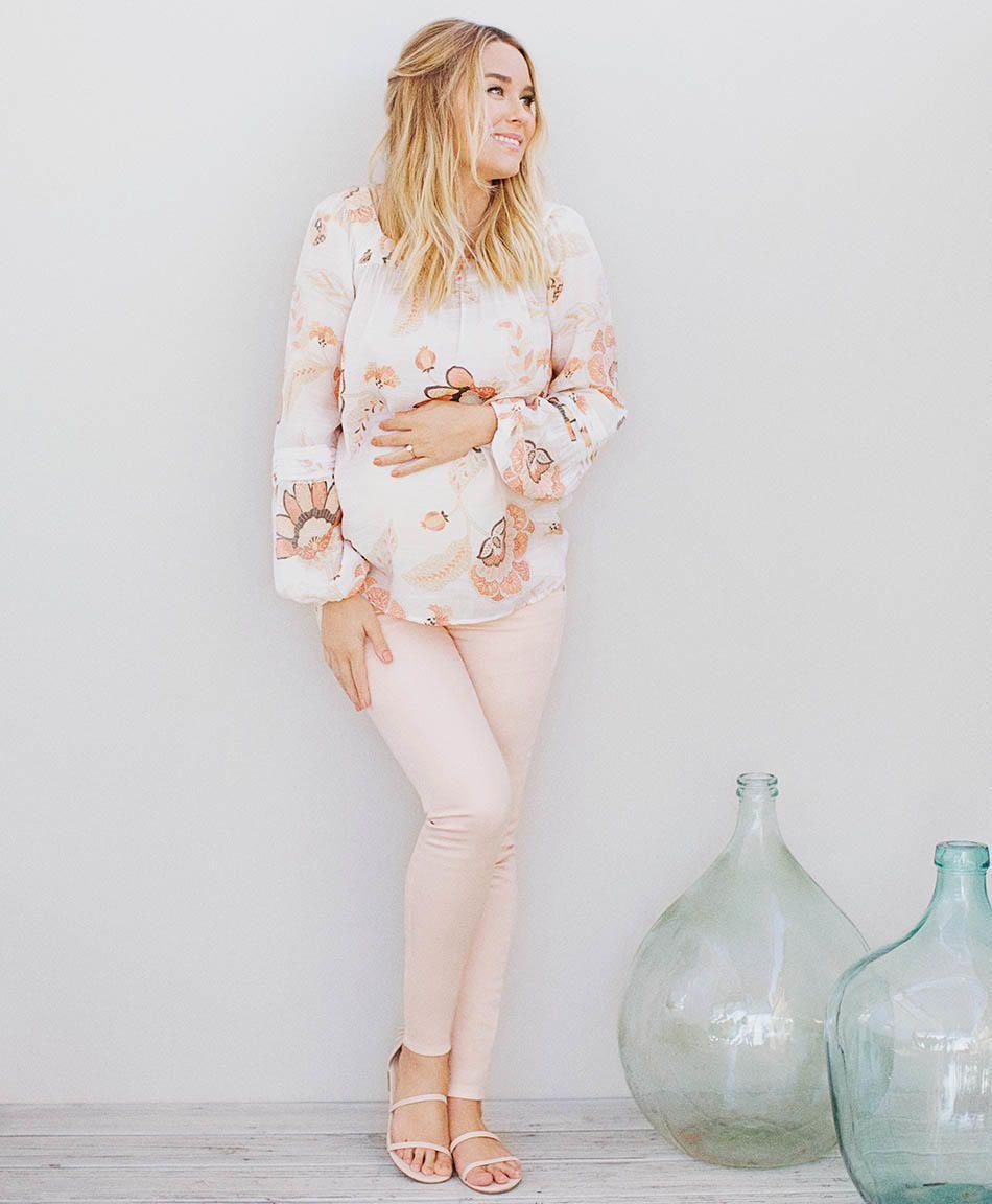 b28fdaa517c34 Lauren Conrad Is Rocking Her New Maternity Line (Exclusive Photos ...