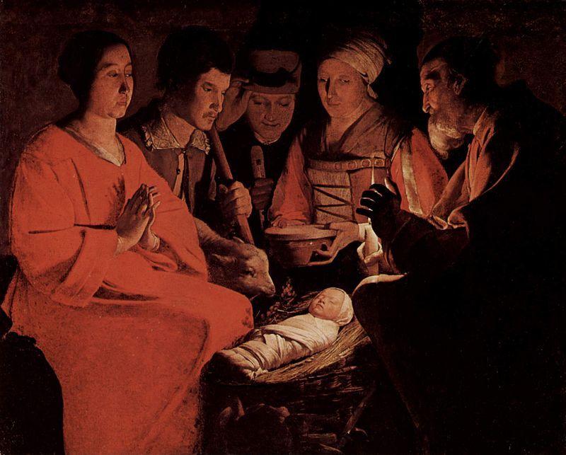 Georges De La Tour Chiaroscuro La Tour Baroque Art