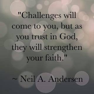 Quotes About Challenges Alluring Ldsconf 2014 Neil Aandersen Www.theculturalhall #quotes . Decorating Design