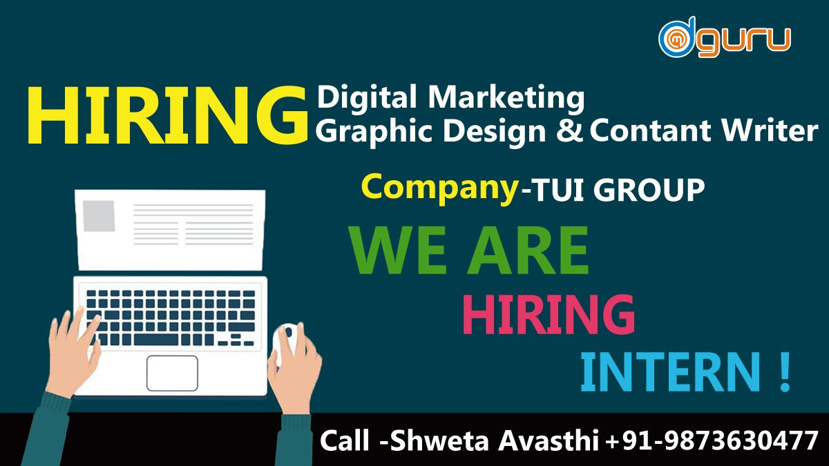 Openings are available at TUI Group for the various