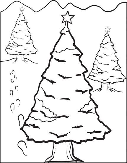 Get The Christmas Tree Coloring Sheet Here Mpmschoolsupplies Ideas 4675 Page 6