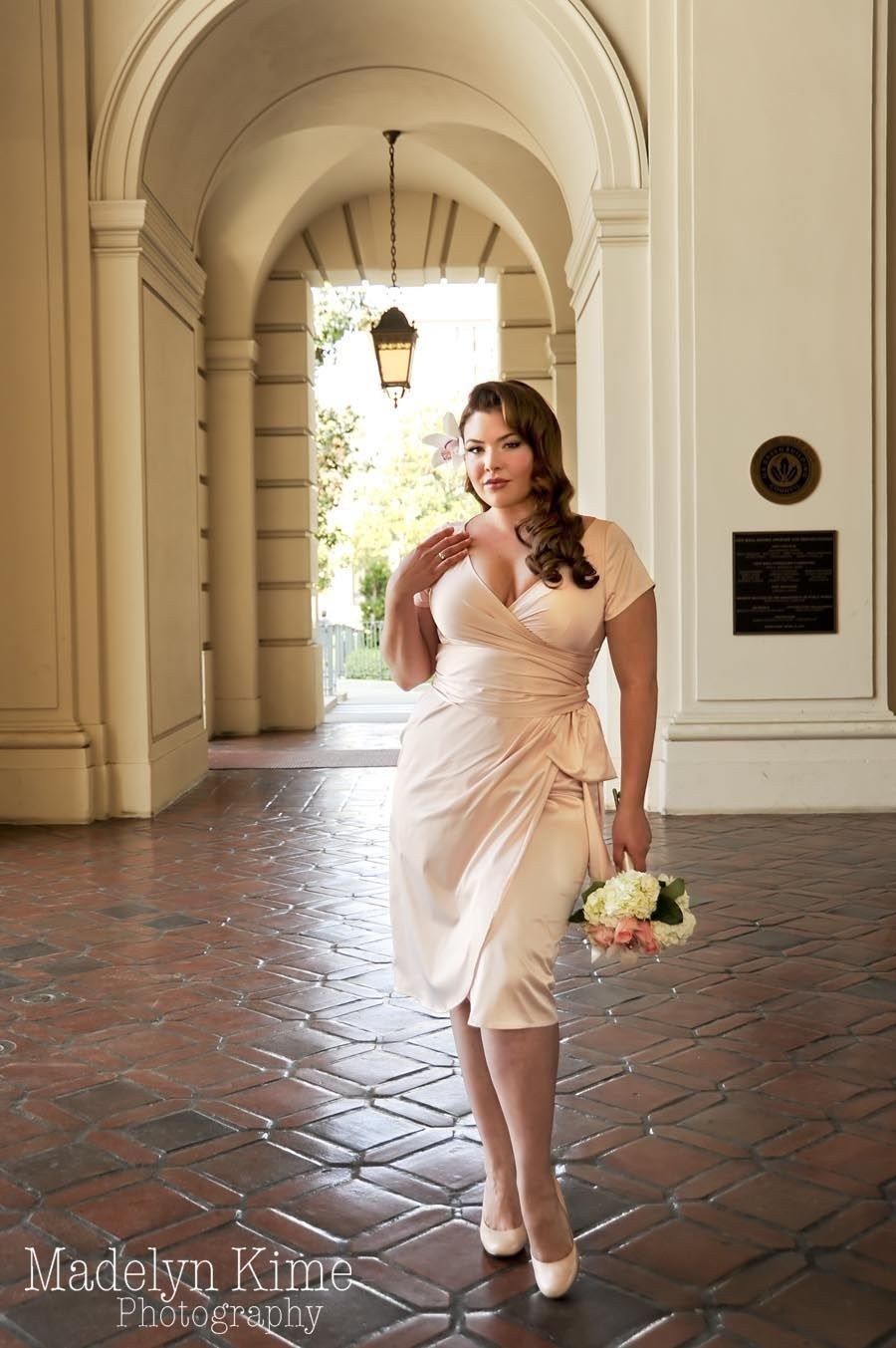 Pinup Couture Ava Dress in Blush.......a possible next wedding dress ...