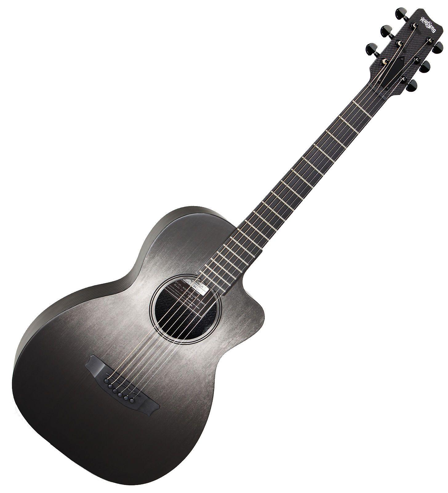 Rainsong Ch Pa1100nsg Concert Hybrid Parlor Carbon Reverb Concert Acoustic Guitar Acoustic
