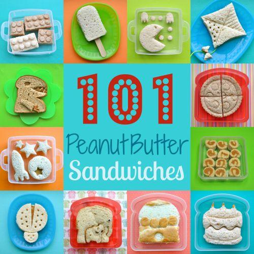 101+ Peanut Butter Sandwiches By @merrycrismess