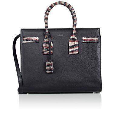 SAINT LAURENT Small Sac De Jour. #saintlaurent #bags #shoulder bags #hand bags #leather #