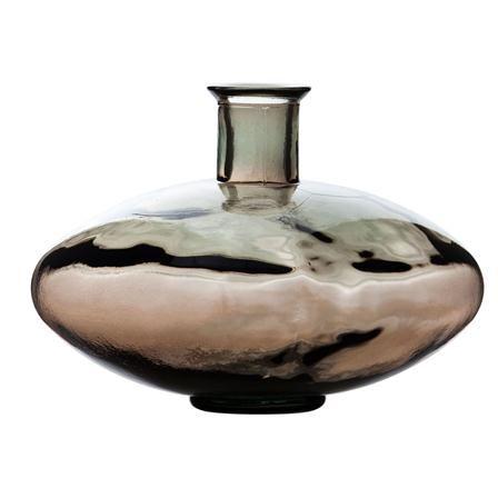Jarrón marrón de Mueble y accesorio con encanto, 29 cm